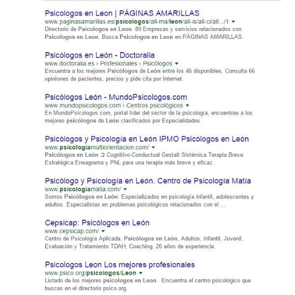 psicologos leon