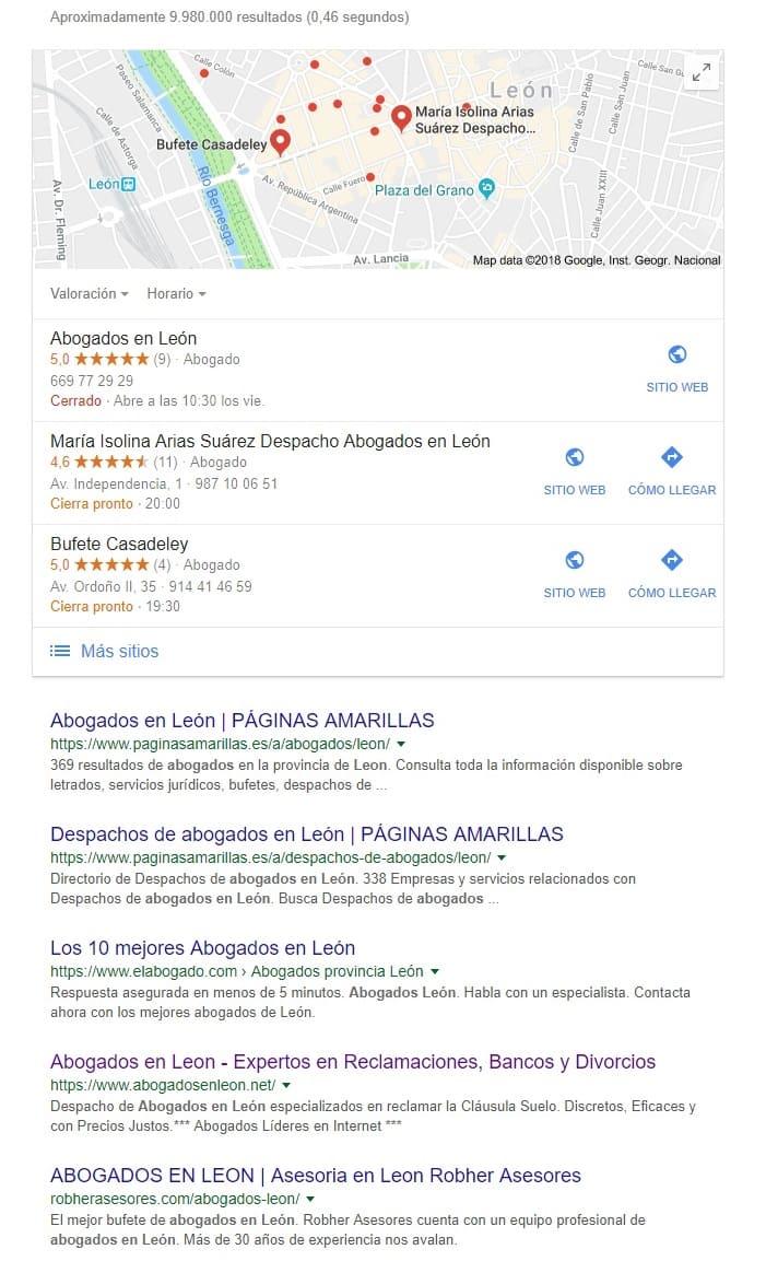 Abogados en León