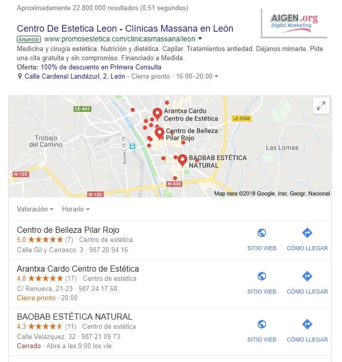 Centro de Estética en León